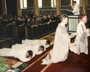 Weiheliturgie in der Zürcher Liebfrauenkirche