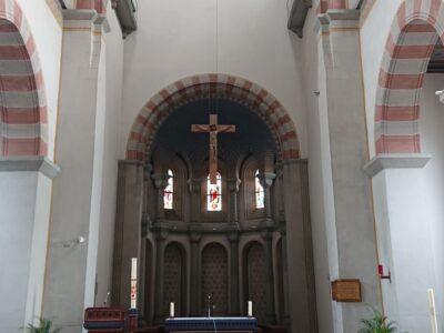 Die Grundreinigung der Räume der Kirche